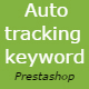 Auto Tracking Search Keyword - Prestashop Module