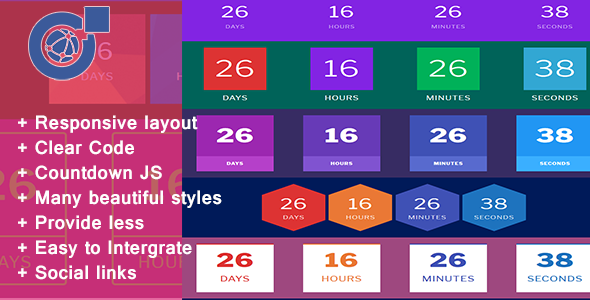 Countdown Addons for Visual Composer Easy to Edit - CodeCanyon Item for Sale