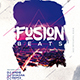 Fusion Beats Party Flyer - GraphicRiver Item for Sale