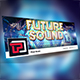 Future Sound Facebook Cover Template