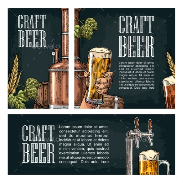 Craft Beer Posters - Food Objects