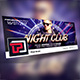 Night Club Facebook Cover Template
