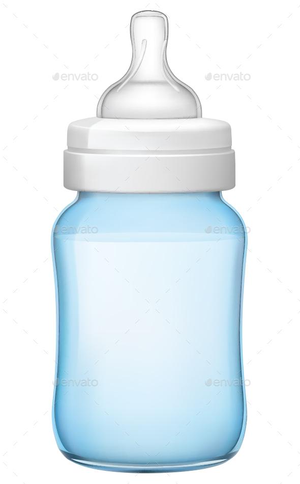 Baby Bottle - Food Objects