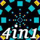Reaktor - VJ Loop Pack (4in1) - VideoHive Item for Sale