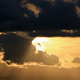 Layered Clouds Golden Sunset - VideoHive Item for Sale