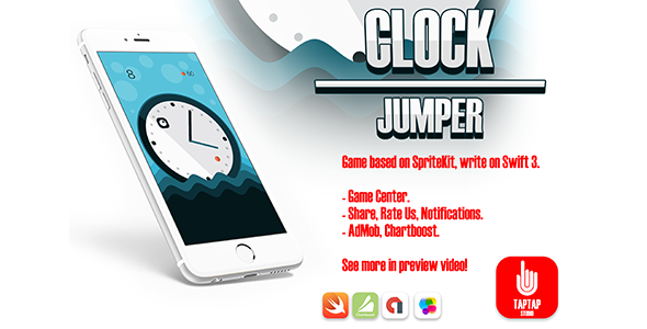 Clock Jumper - CodeCanyon Item for Sale