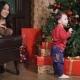 Family of a Christmas Photographic Studio