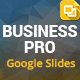 Business Pro Google Slides Presentation Template - GraphicRiver Item for Sale