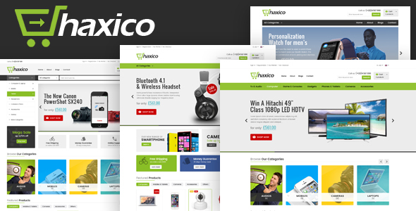Image of Haxico - Technology Responsive Magento Theme