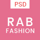 RAB - Fashion eCommerce PSD Template - ThemeForest Item for Sale