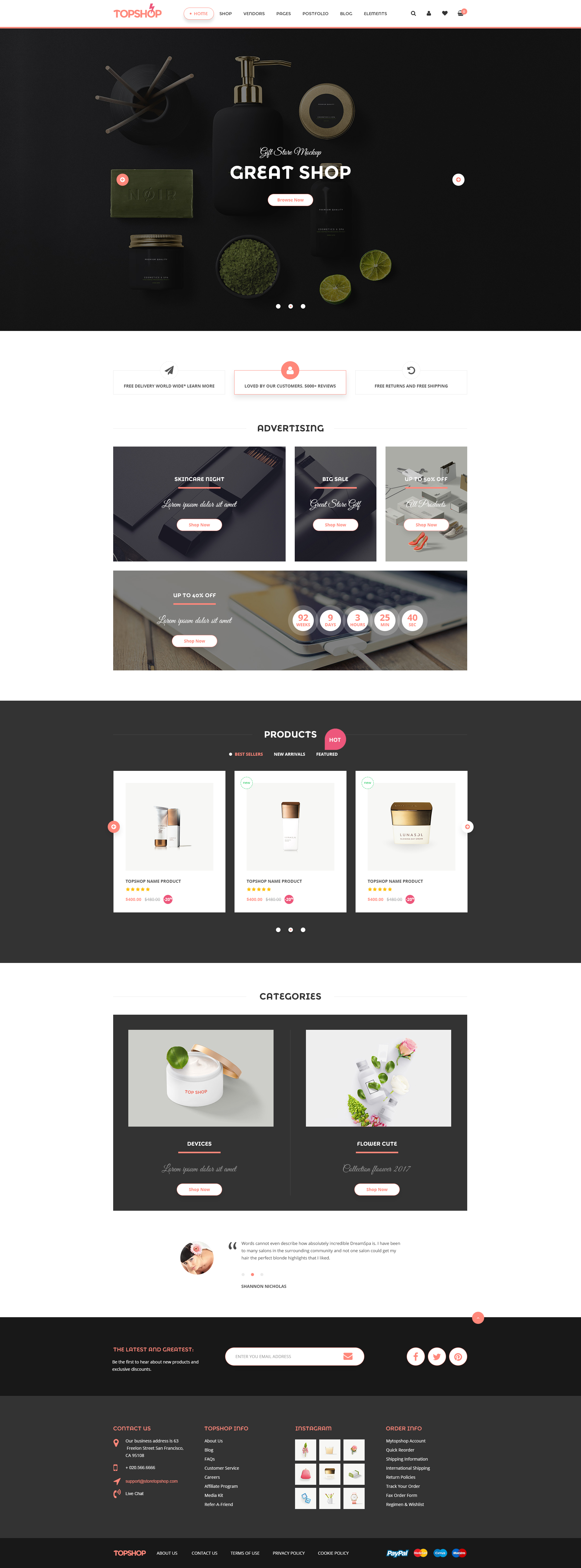 Topshop eCommerce - Html Template by creativemarket247 | ThemeForest