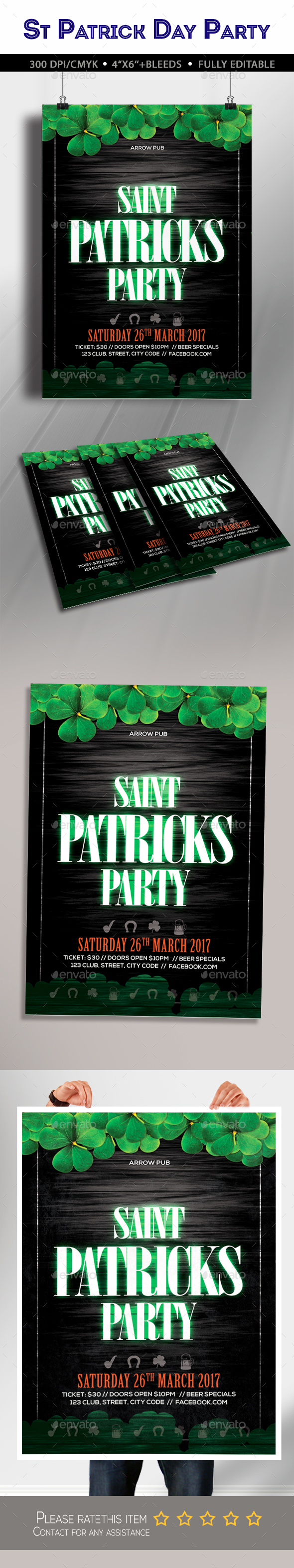 St. Patricks Day Party - Clubs & Parties Events