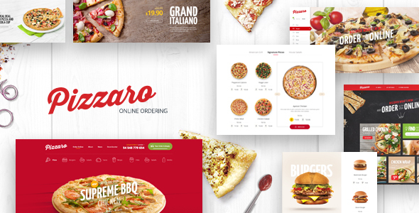 Pizzaro – Food Responsive Magento 1 & 2 Theme