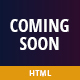 Coming Soon HTML Template - ThemeForest Item for Sale