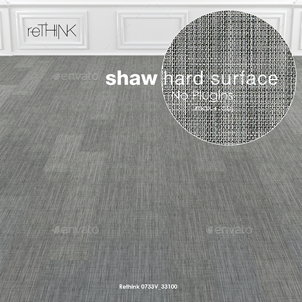 Shaw Hard Surface Rethink Wall to Wall Floor - 3DOcean Item for Sale