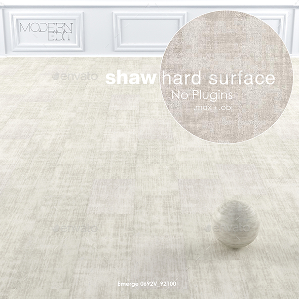 Shaw Hard Surface Intricate Wall to Wall Floor - 3DOcean Item for Sale