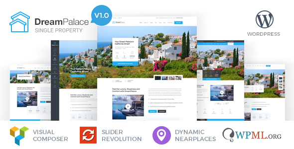 DreamPalace – Single Property Real Estate Theme