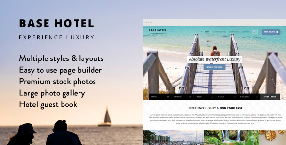 Base Hotel – WordPress Theme
