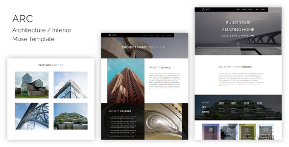 ARC_Architecture / Interior Muse Template