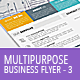 Multipurpose Business Flyer Template 3 - GraphicRiver Item for Sale