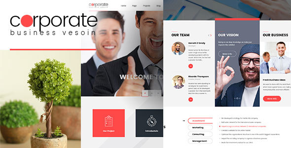 Corporate - Responsive WordPress Theme - Corporate WordPress