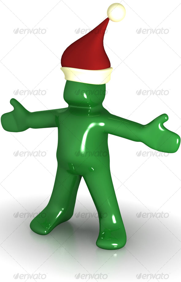 Mr Green Santa-edition - 3D Backgrounds