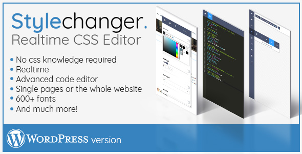 Stylechanger WordPress version - CodeCanyon Item for Sale
