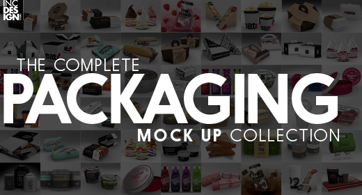 Complete Packaging Mock Up Collection