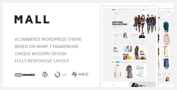 Mall — Clean Multi-Purpose WooCommerce Responsive WordPress Theme - WooCommerce eCommerce