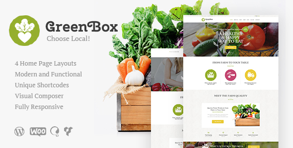 Green Box | Eco Farm & Organic Products Store WordPress Theme