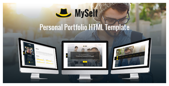 MySelf – Personal Portfolio HTML5 Template