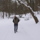 Young Handsome Walks Winter Park - VideoHive Item for Sale