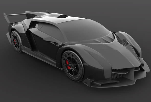 Lamborghini Veneno - 3DOcean Item for Sale