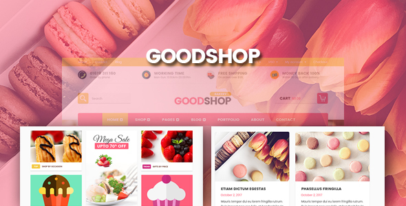Good Shop | Psd Template