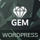 Gem — Luxury eCommerce Responsive WordPress Theme - ThemeForest Item for Sale