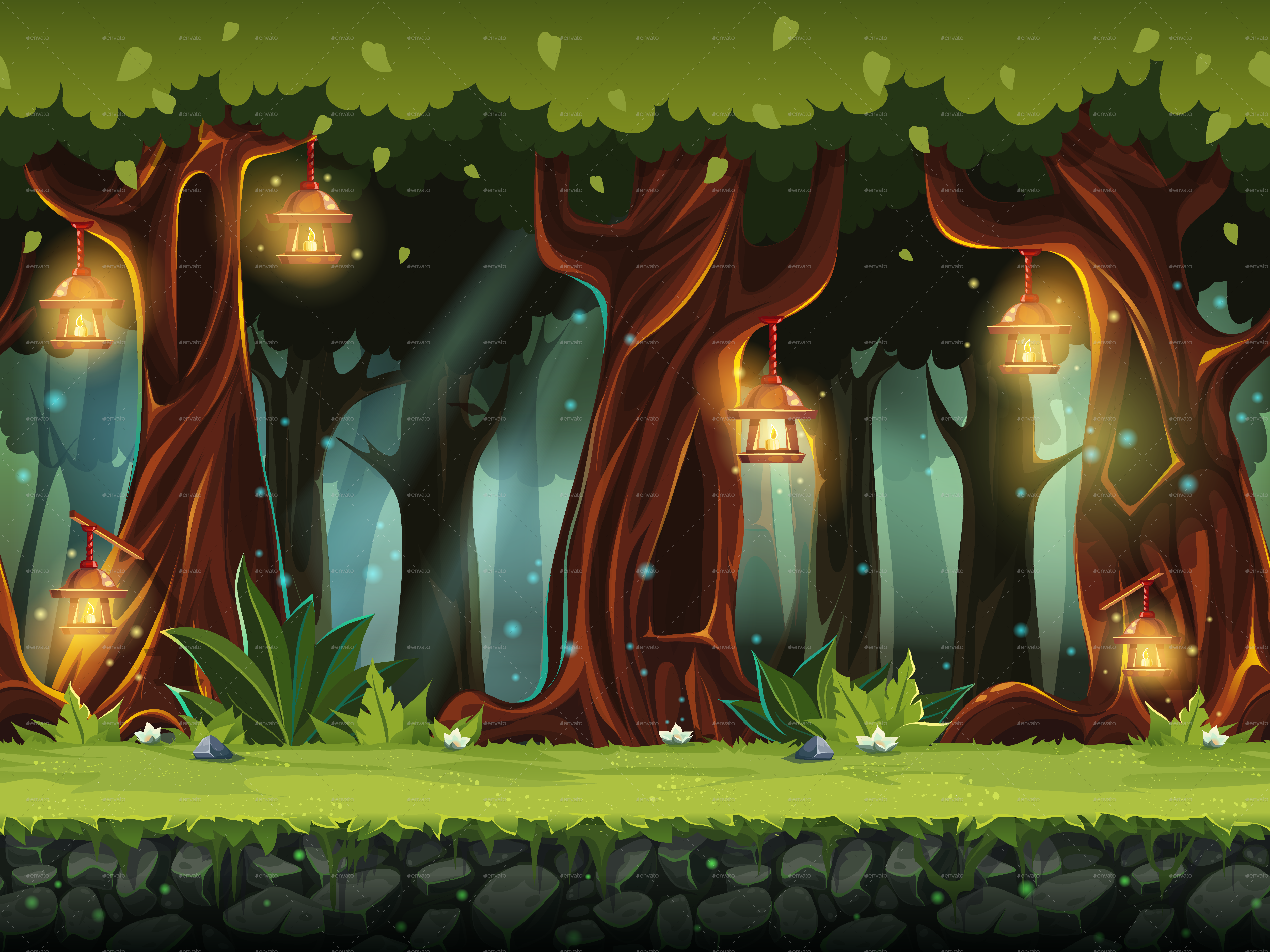 fairy forest by nearbirds graphicriver esports logo generator esports logo generator