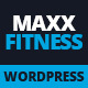 Maxx Fitness - Responsive WordPress Theme Nulled