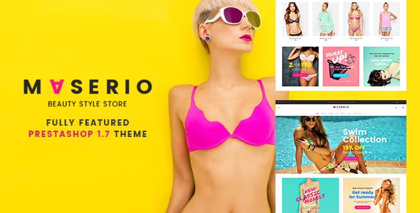 Maserio – Lingerie PrestaShop 1.7 Theme