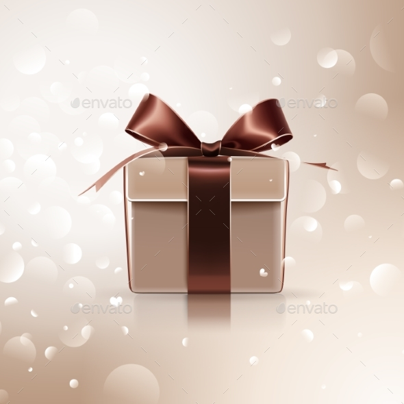 Gift with Brown - Birthdays Seasons/Holidays