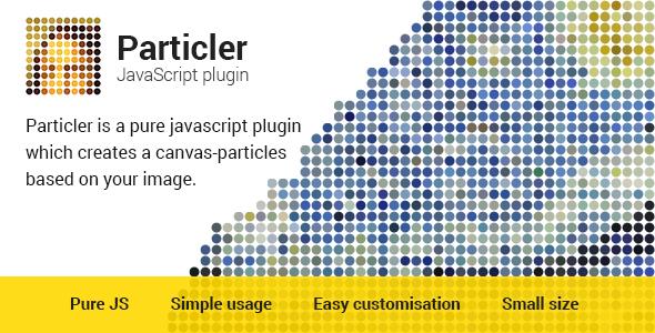 Particler JavaScript Plugin - CodeCanyon Item for Sale