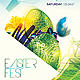 Easter Fest Flyer Template - GraphicRiver Item for Sale