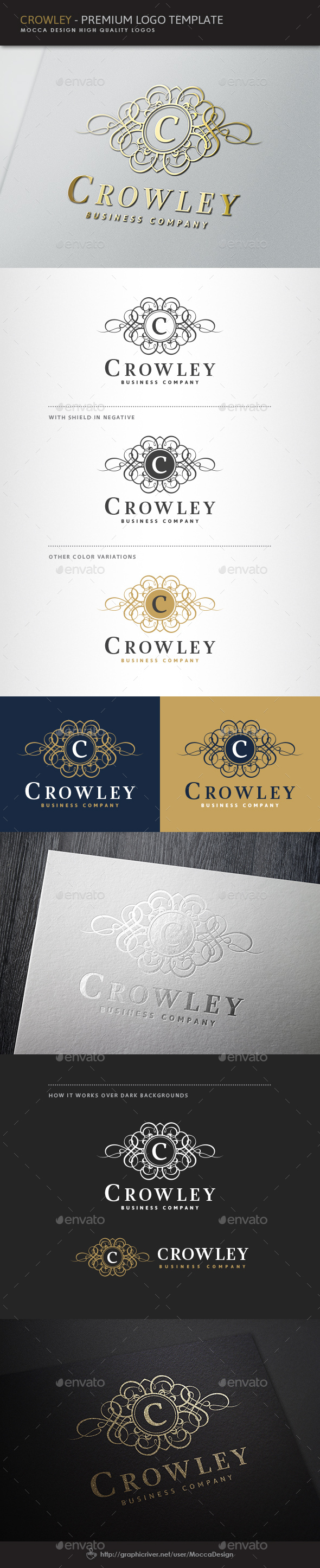 Crowley Logo - Crests Logo Templates