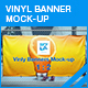 Vinyl Banner Mock-up - GraphicRiver Item for Sale