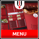 Restaurant Bifold Menu - GraphicRiver Item for Sale