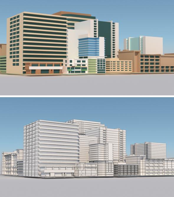 Building Vol 2 - 3DOcean Item for Sale