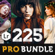 225 Pro Lightroom Presets Bundle - GraphicRiver Item for Sale