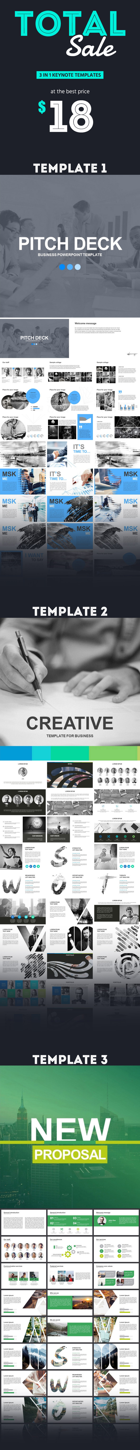 Business Bundle - Business Keynote Templates