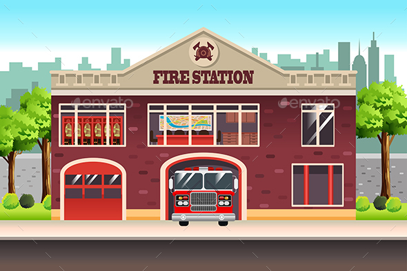 Fire Station - Buildings Objects