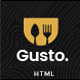 Gusto - Restaurant, Café, Bar, Seafood Restaurant HTML Template - ThemeForest Item for Sale