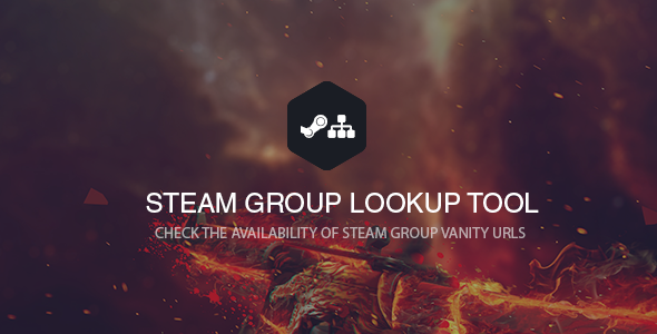 Steam Groupname / Vanity Checker - CodeCanyon Item for Sale